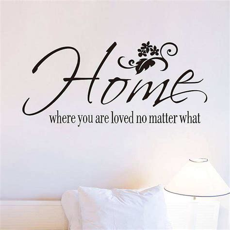 home    loved  matter  quotes wall