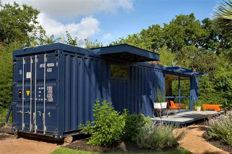 shipping container house shipping container guest house by jim poteet