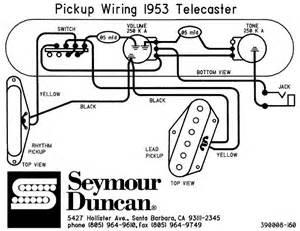wiring 53 telecaster telecaster