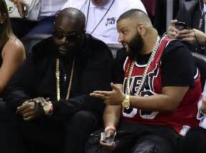 dj khaled tattoos rick ross gets miami heat on his photo