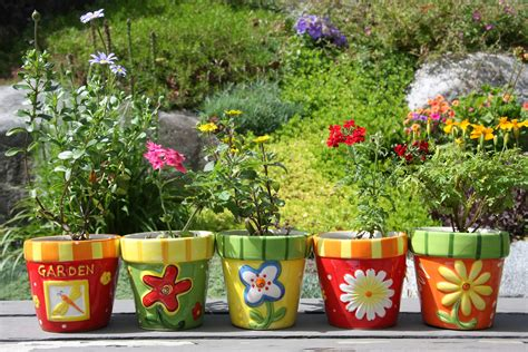 Garden Flower Pots Garden Ideas For Beginners Creating The Patch