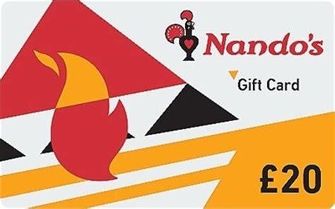 Nando S Gift Card - nando s 163 20 gift card gift card vouchers tesco