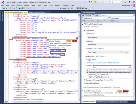 review workflow code review tool for visual studio review assistant