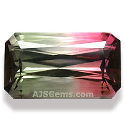 Bi Color Tourmaline bi color tourmaline gemstone information at ajs gems