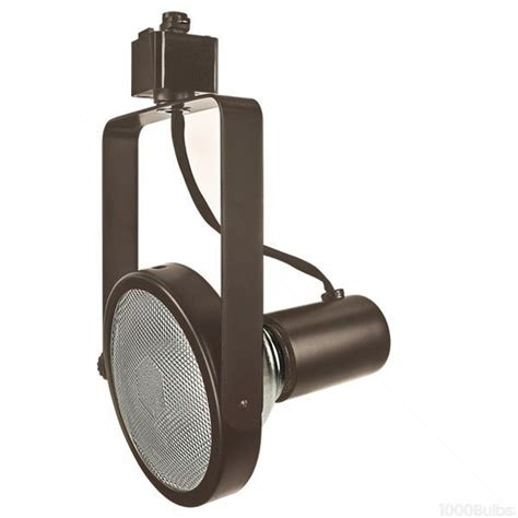 Halo Track Light Fixtures Nora Nth 108bz Gimbal Ring Line Voltage Track Bronze