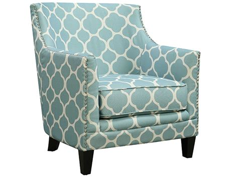 Aqua Accent Chair Dinah Aqua Accent Chair Bailey S Furniture