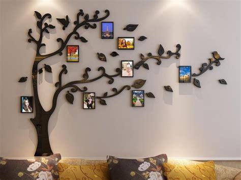 Zebra Print Wall Murals family tree picture frame arrangement ideas