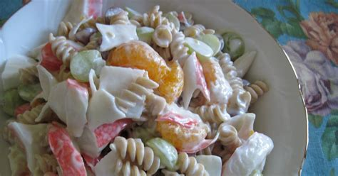 pasta boat directions mum in bloom recipe fruity crab pasta salad