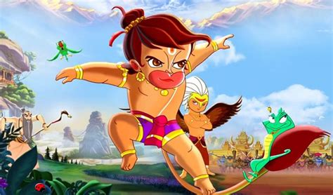 cartoon film of hanuman flashback decoding the dubbing process of animated film