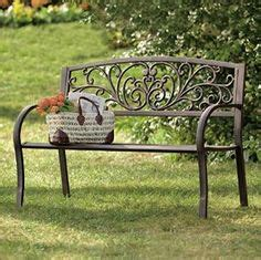 metal garden benches amazon 1000 ideas about metal lawn chairs on pinterest vintage