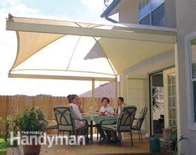 stand easy awning how to shade your deck or patio with a diy awning the