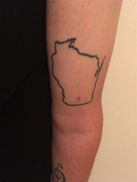 bad apple tattoo madison we asked you to send us your wisconsin tattoos your