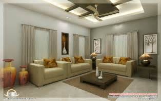 Living Room For Interior Design Awesome 3d Interior Renderings Kerala Home Design And