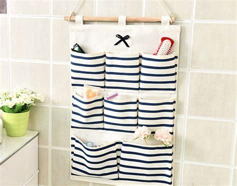 Rak Kosmetik Gantung Unik pouch gantung 8 sekat rak dekorasi unik serbaguna grosir