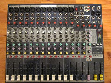 Audio Mixer Soundcraft Efx12 soundcraft efx12 image 349152 audiofanzine