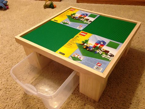 Lego Building Table by Lego Table With 4 Building Plates And W 1 By Classicwoodtoys