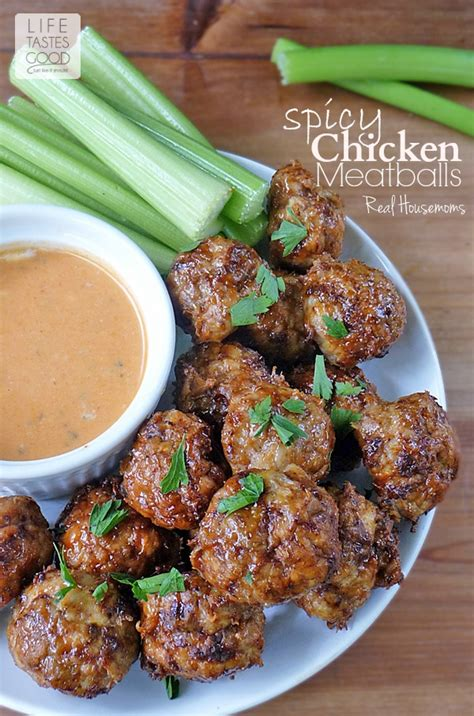 Readers Recipe Bowl Meatballs by Spicy Chicken Meatballs