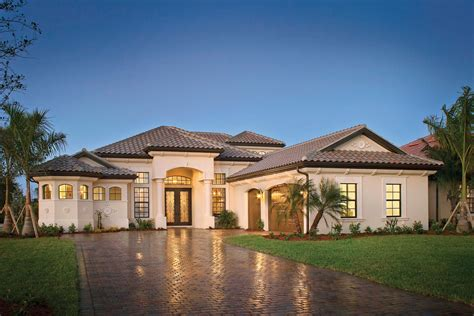 Laurel Luxury Model Home Completed At Runaway Bay In Luxury Homes In Naples Florida