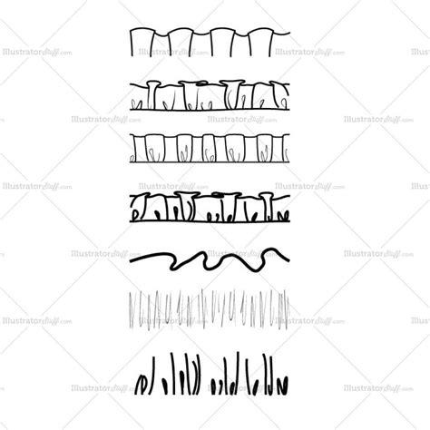 illustrator pattern edge ruffles and gathers brushes illustrator stuff