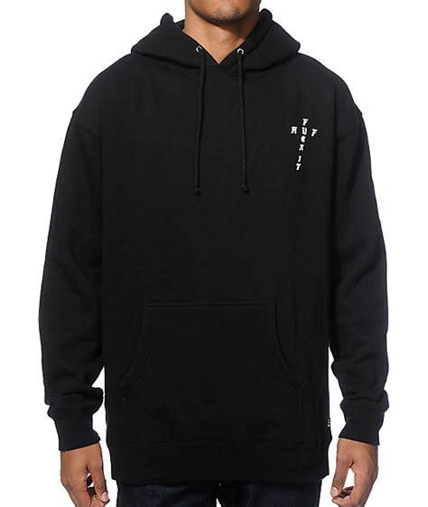 Hoodie Cross huf funeral cross hoodie