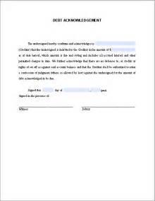 Certification Letter For Receiving Money debt acknowledgement letter sample free fillable pdf forms