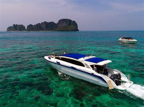 boat tour from phi phi island phi phi island sunrise tour the speedboat rear easy