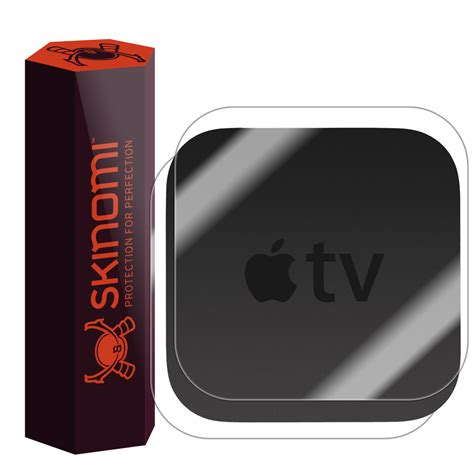 Skins For Customizing Your Apple Tv by Skinomi Techskin Apple Tv 2015 Skin Protector 4th