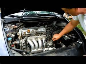 starter remove replace quot how to quot 03 07 honda accord 2 4l
