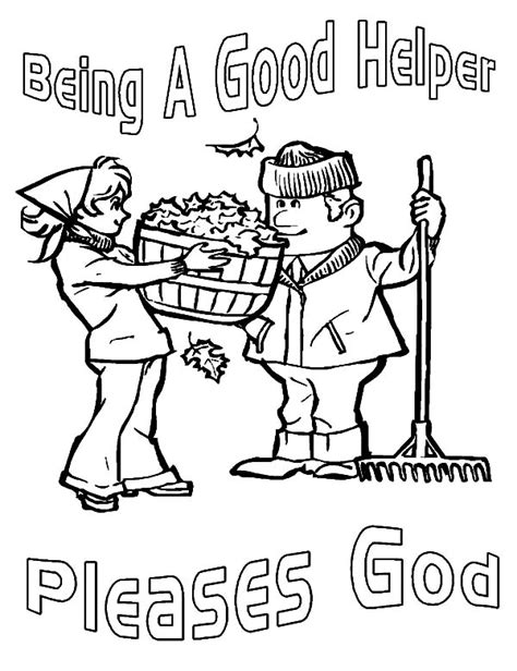 becoming a helper 16 best images of being a helper worksheets