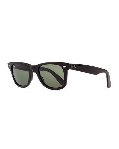Rayban R8013 Black Green Lens ban classic wayfarer sunglasses black green lens