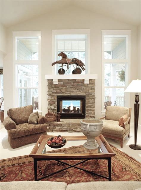 Two Sided Fireplace Inside Outside by 17 Best Ideas About Indoor Outdoor Fireplaces On