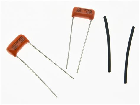 guitar tone capacitor type 2pcs guitar bass sprague 715p orange drop capacitor 022uf 400v guitar tone cap ebay