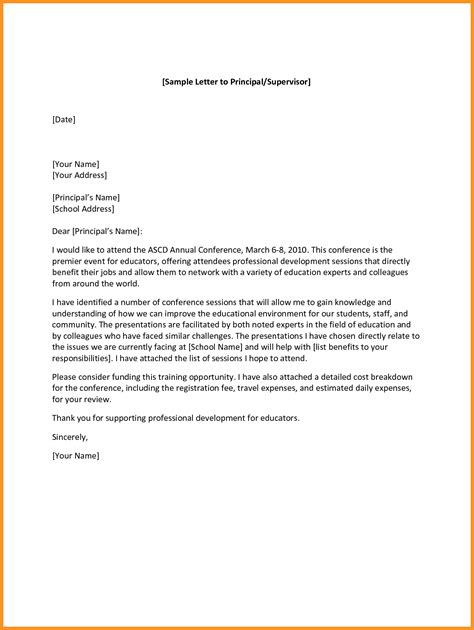 layout of letter to principal best of letter format for school templates design