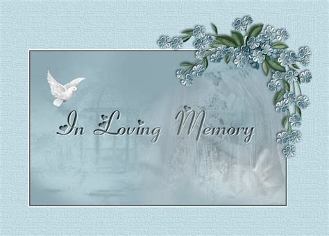 memory powerpoint template in loving memory of shelly sue