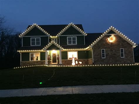 roof christmas lights light decoration ideas for scroogy r a landscaping