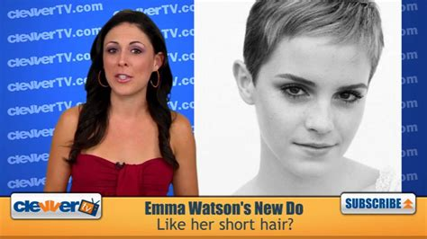 emma watson likes and dislikes emma watson cuts her hair like the short pixie hairstyle