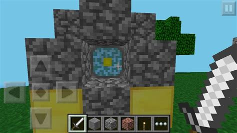 minecraft pe new portal ender portal for minecraft pe how to make the minecraft
