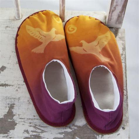 Handmade Slippers For - sunshadow slippers 187 sunset bird handmade slippers