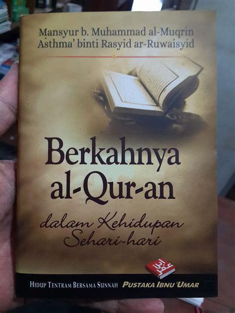 Buku Tuntunan Tahsin Al Qur Rsquo buku saku berkahnya al qur an dalam kehidupan sehari hari