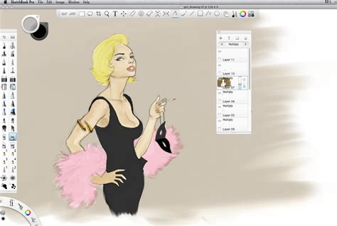 sketchbook pro mac os x 10 5 8 review autodesk sketchbook pro version 6 wired