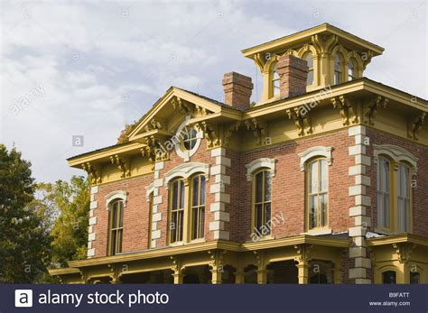 we buy houses des moines usa iowa des moines open air museum flynn house house facade close up stock photo