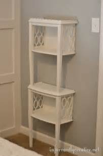 side table with shelves stacked end table shelf roadkill rescue