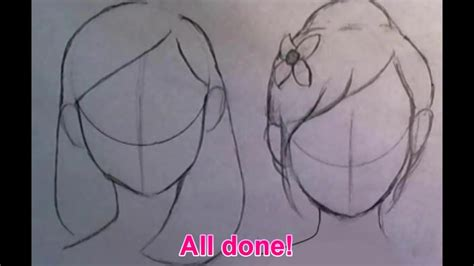 cute easy hairstyles to draw quick tips how to draw cute hairstyles for beginners