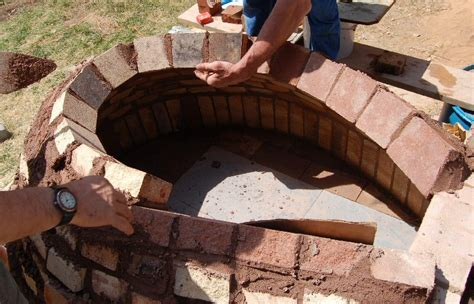 backyard brick oven plans bake ovens
