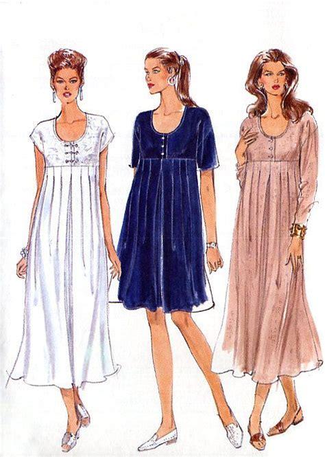 free pattern empire waist dress empire waist maternity dress pattern vogue by
