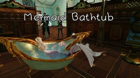 mermaid bathtub archeage artistry mermaid bathtub youtube