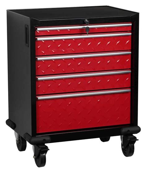 garage storage drawers uk hilka 5 drawer mobile garage cabinet
