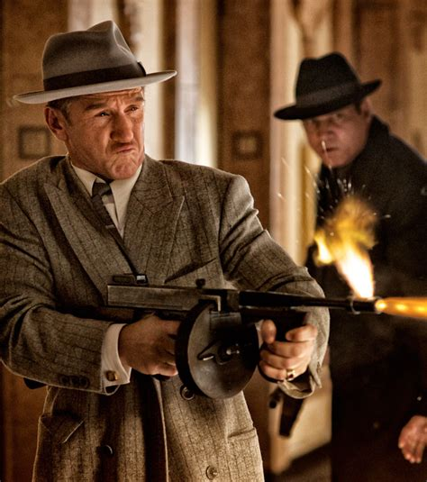 film gangster culte gangster squad dommage collat 233 ral apr 232 s la fusillade d