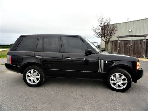 range rover of san francisco 2008 land rover range rover hse stock m008 for sale near