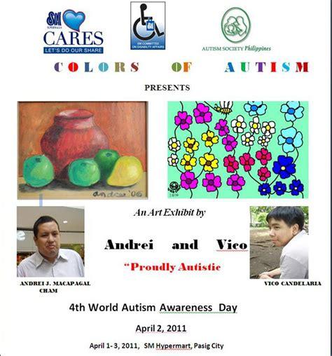 autism colors colors of autism spectrum exhibit autism society philippines